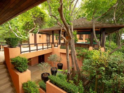 Photo for Three-Bedroom Residence Pool Villa with Garden View