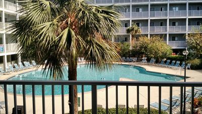Photo for Boardwalk to Beach, Poolside, First Floor 2BR/2Bath Condo in Oceanside Resort