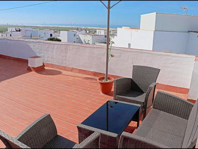Photo for Bright apartment close to beach