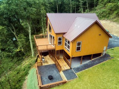 Photo for Tree Top cabin on the Shenandoah River