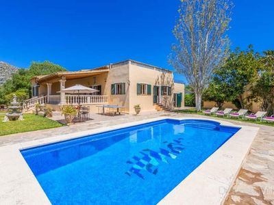Photo for Pollenca Villa, Sleeps 8 with Pool, Air Con and WiFi