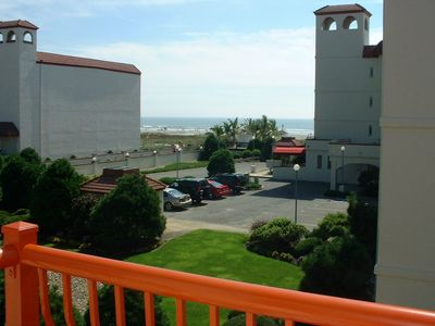 Photo for Ocean View Condo in Beautiful Diamond Beach - Steps to Beach!