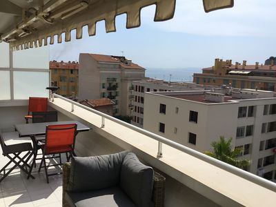 Photo for NICE PORT - VERY BEAUTIFUL APARTMENT TERRACE AND VIEW