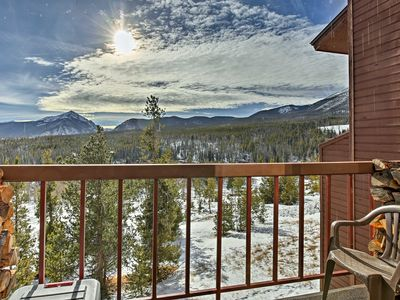 Photo for Silverthorne Condo w/Pvt Balcony & Hot Tub Access!