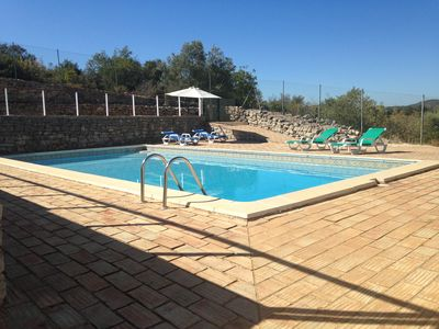 Photo for Algarve House with private pool quiet environment