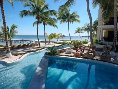 Photo for Beachfront Family Villa - access to pool, beach bar, kayaks, paddle boards