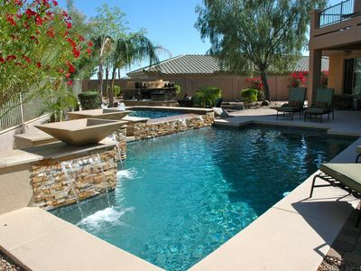 Photo for HEATEDPOOL/SPA/MOUNTAINS/GATED COMMUNITY/SPECIAL PRICING