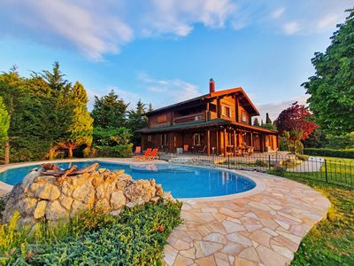 Photo for Luxury Wooden Villa with Pool, The Nest