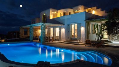 Photo for Sunset Jewel Resort Mykonos 8br upto 20guests Private Pool