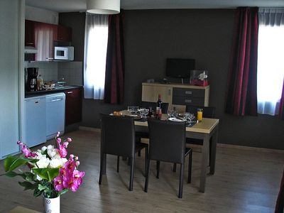Photo for Residence Gorges de la Truyere *** - 2 Room Cabin 5/6 People