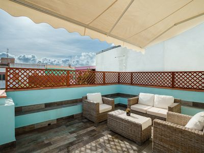 Photo for Entire apartment 75 sqm, 3 bedrooms, 2 bathrooms,, kitchen, large terrace