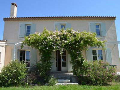 Photo for Large Mas between sea and scrubland in the heart of the vineyard + wine tasting of the estate