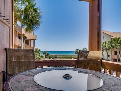 Photo for Large Family Friendly Condo - Steps to the Beach! Close to Attractions!