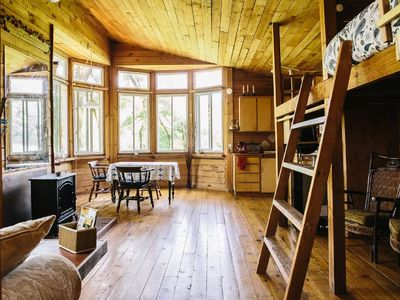 Photo for Relax, rejuvenate, and refresh your soul.  Cabin located between Canby & Aurora