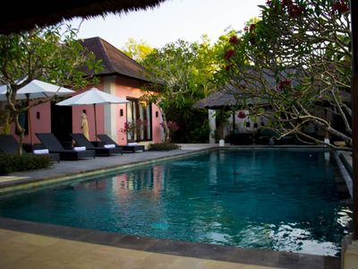 Photo for 4 bedrooms Villa with a view, Jimbaran