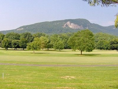 View of Bald Mountain and Fairway #1 off the back deck