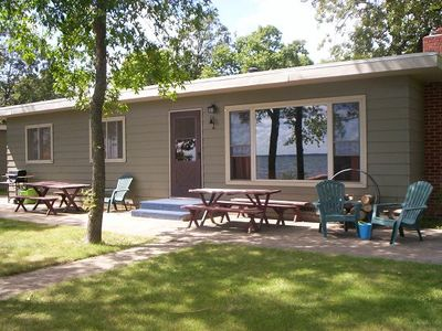 Photo for Great Vacation Cabin With 150ft On Ottertail Lake & 70ft On Dead River