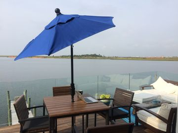 Bay House with Huge Views, Lounge-Style Deck, Chefs Kitchen, and Nautical Theme