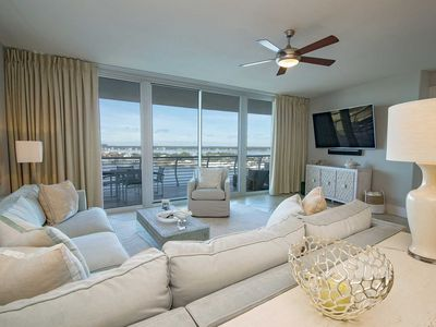 Photo for Bay Front  3 Bedroom ~ Great Amenities ~ Bella Luna 902~ Sleeps 8!