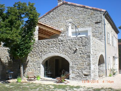 Photo for cottage in the village of Grospierres, southern Ardèche