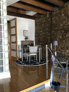 Contemporary loft style apartment in the heart of Historic Downtown Lawrence KS.
