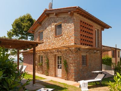 Photo for Typical Tuscan house with: enclosed garden, air conditioning, wi-fi, fireplace