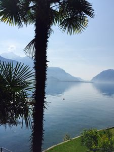 Photo for Suite on the lake. A few steps from Bellagio, apartment overlooking the water.