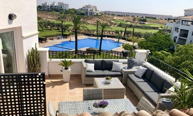 Photo for Luxury Penthouse Overlooking Pool And 4th Fairway