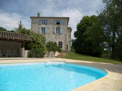 Photo for HOUSE QUERCY 8 people -Swimming PRIVEE- TENNIS