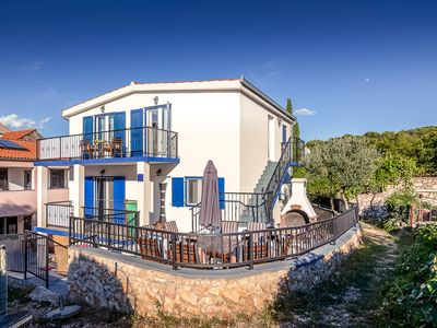 Photo for Ideal summer base, one or both apartments in Sea House in Wonderful Tisno!