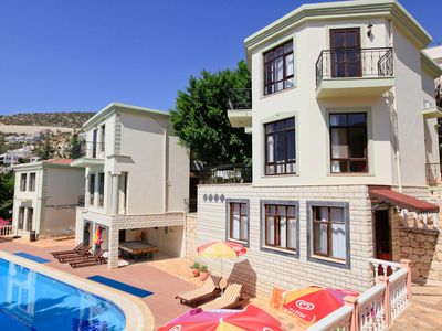 Photo for Villa Habessos: Swimming Pool, Walk to Beach, A/C, WiFi, Car Not Required