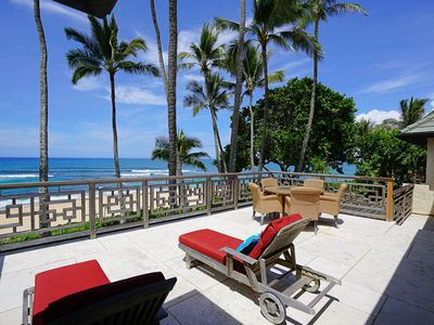 Photo for Haleiwa BEACHFRONT FamilyExecutive Retreat located w/in 7Mile Miracle of Surfing