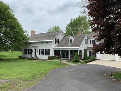 Photo for Modern luxury awaits!  86 acres of serenity just minutes from Cooperstown