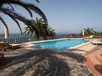 Photo for Luxury studio with amazing sea view and swimming pool