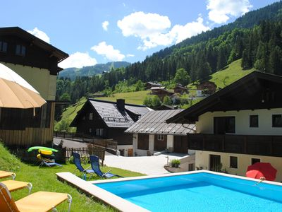 Photo for Naturhaus Andrea - Apartment Ahorn with special hiking experiences & pool