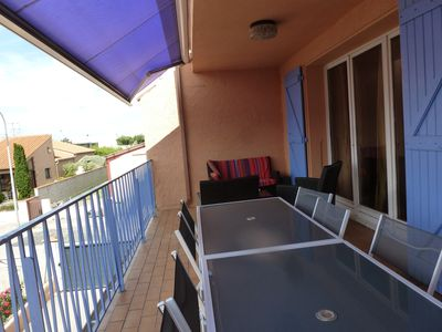 Photo for T4 apartment overlooking the Albères chain