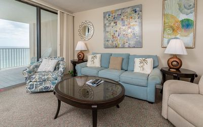 Photo for BEACH FRONT ~ 3 Bedroom ~ Bluewater Condo! 7 Night SPECIALS!