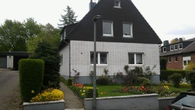 Photo for 1 room apartment, ground floor, in the 2 Fam.House with garden, GE.-Buer