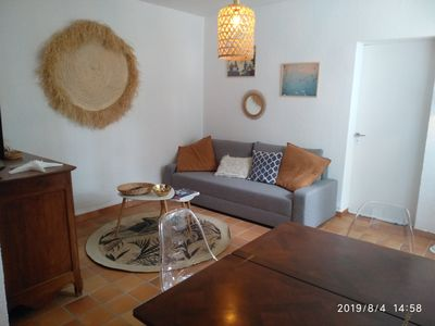Photo for Charming house for 6 people 100m from the beach and 500m from shops