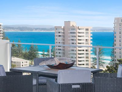 Photo for Dbah Unit 13 - On the hill with 180 degree views overlooking Rainbow Bay Coolangatta and Tweed Heads