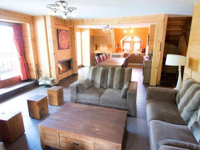 Photo for Chalet- VAUJANY- ALPE D'HUEZ- 150 m2- 10 people