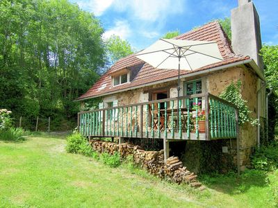 Photo for Quaint Cottage in Juillac with Private Garden