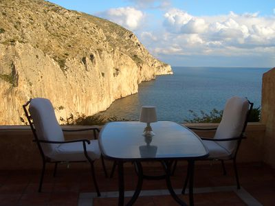 Photo for On the MEDITERRANEAN SEA. FOR COUPLES. SPECTACULAR AND RELAXING VIEWS