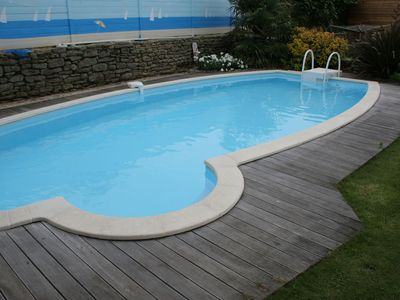 Photo for Traditional Holiday Home in Plomeur with Swimming Pool