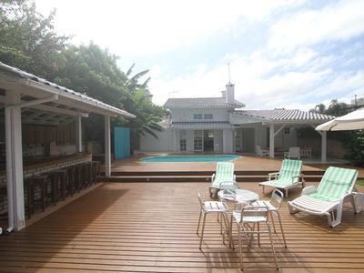 Photo for House in private condominium, beach front, pool, gourmet space.