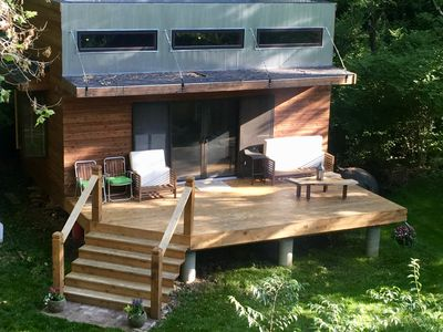 Photo for Private Guest House with a beautiful privite wooded setting on the Blue River