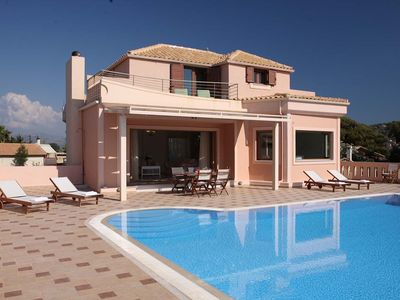 Photo for 10% OFF MAY & JUNE: Family Villa 1 minute from Agios Ioannis Beach