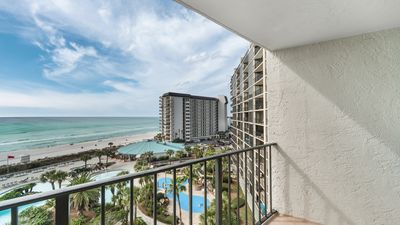 Photo for New Listing! Vacation fun awaits at this lovely condo w/ ocean views! Free WiFi!