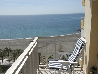 Photo for Beachfront apartment GORGEOUS LOCATION! Great value for money.