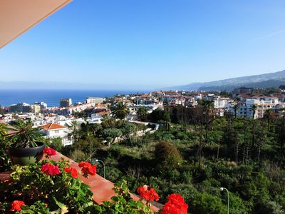 Photo for Luxury apartment with stunning views and large pool and WiFi.